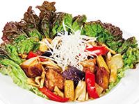 6種野菜の黒酢チキン