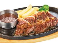 赤身肉のやわらかカットステーキ
