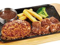 ハンバーグ&カットステーキ
