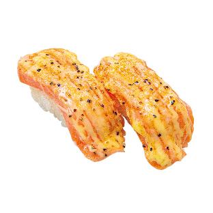 生サーモン黒胡椒炙り