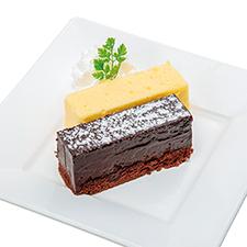 ガトーショコラ&北海道チーズケーキ