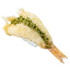 ほうぼうの天ぷら(茶塩)