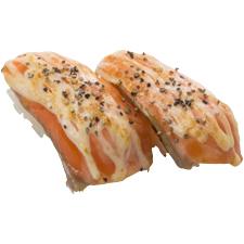 サーモンペッパーマヨ炙り